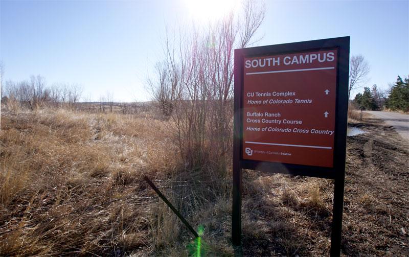 CU South signage